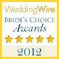 Wedding Wire Brides Choice Award 2012